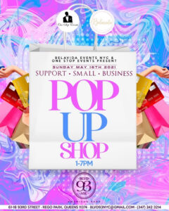 Support Small Business Pop Up Shop @ Blvd 93 NYC | New York | United States