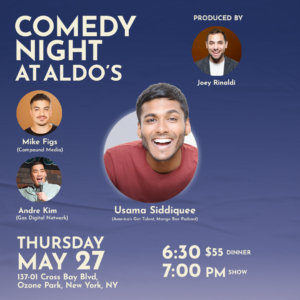 Comedy Night at Aldo's @ Aldo's II Pizzeria & Restaurant | New York | United States