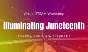 Virtual STEAM Workshop: Illuminating Juneteenth @ Lewis Latimer House Museum | New York | United States