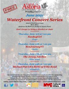 SundayGirl(Blondie tribute) @ Astoria Park Waterfront Concert Series @ Astoria Park | New York | United States