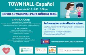 COVID-19 Vacunas Para Niños & Mas – Town Hall en Español @ virtual