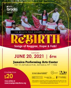 Braata Folk Singers Concert @ Jamaica Performing Arts Cener | New York | United States