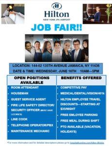 Job Fair - Hilton NY JFK @ Hilton NY JFK | New York | United States