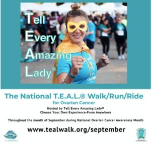 The National T.E.A.L.® Walk/Run/Ride @ Virtual event