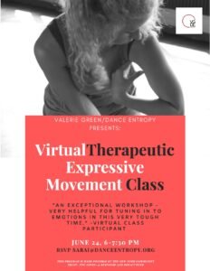 Skimming the Surface FREE Virtual Expressive Movement Workshop @ ONLINE | New York | United States