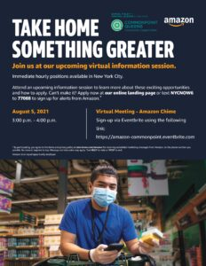 Amazon Careers Virtual Information Session @ virtual