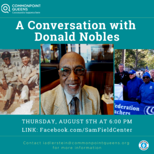 A Conversation with Donald Nobles @ virtual