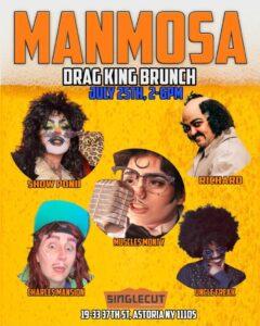 Manmosa: Drag King Brunch @ SingleCut Beersmiths | New York | United States