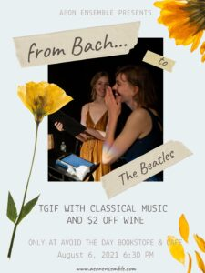 From Bach to The Beatles by the Beach @ Avoid The Day Bookstore & Cafe | New York | United States