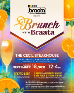 Brunch with Braata @ The Cecil Steakhouse | New York | New York | United States