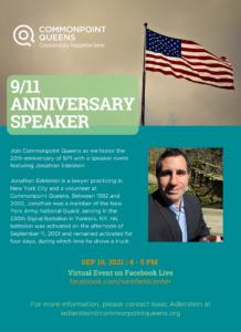 9/11 Anniversary Speaker @ virtual