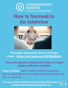 How to Succeed in an Interview @ virtual