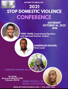 2021 Stop Domestic Violence Conference @ Via Zoom