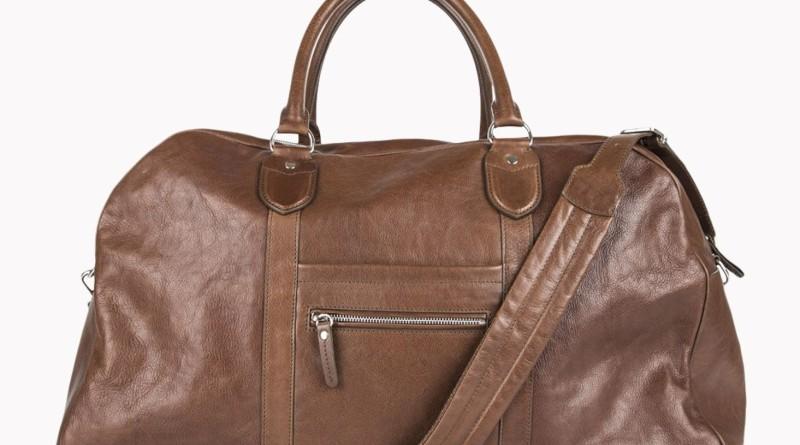 Brunello Cucinelli Leather Travel Bag James Bond SPECTRE