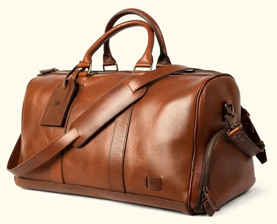 budget James Bond SPECTRE style leather duffle bag affordable alternative