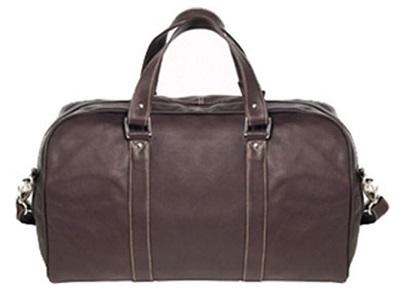 budget James Bond SPECTRE style leather duffle bag