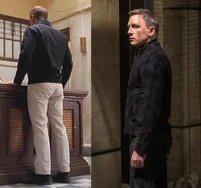 how to dress like James Bond pants and jackets