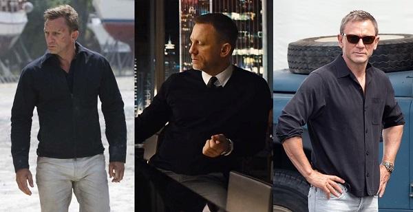 how to dress like James Bond colors