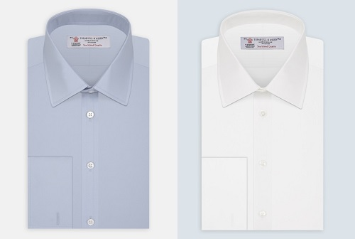 Turnbull and Asser James Bond dress shirts