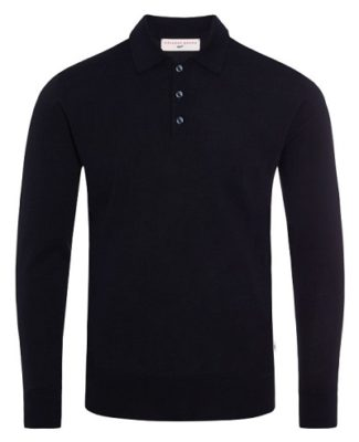 affordable Bond wardrobe black polo shirt