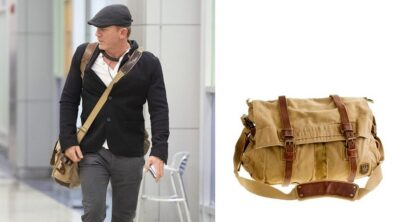 Daniel Craig Belstaff 554 Colonial Messenger Bag