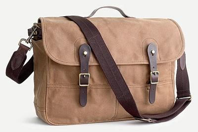 J.Crew Abigndon Messenger Bag