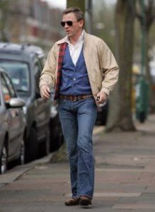 Daniel Craig Baracuta Harrington Jacket