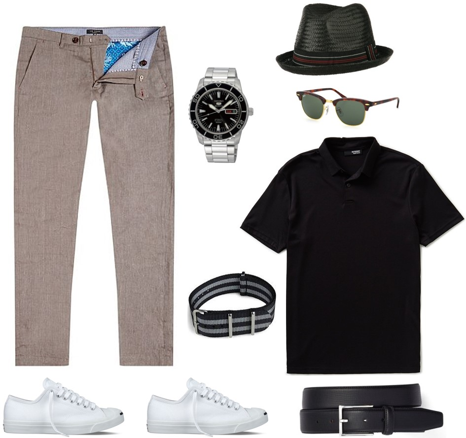 4 ways to wear the James Bond linen trousers