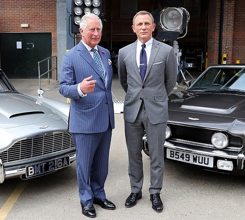 Daniel Craig James Bond Prince Charles B25