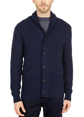 affordable alternative steve mcqueen blue shawl collar cardigan