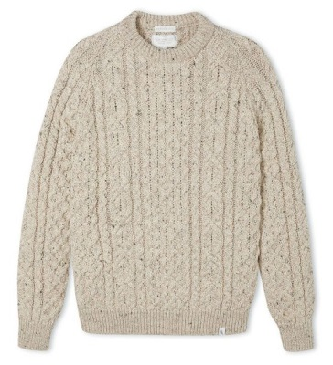 Thomas Crown Affair Aran Sweater alternative