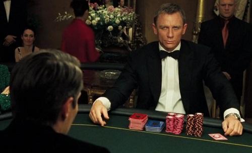 Daniel Craig James Bond Casino Royale poker game