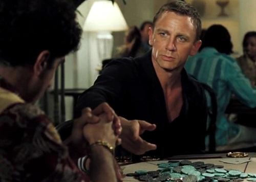 Daniel Craig James Bond Casino Royale Bahamas poker game