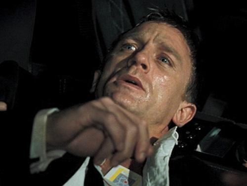 Daniel Craig James Bond Casino Royale poisoned