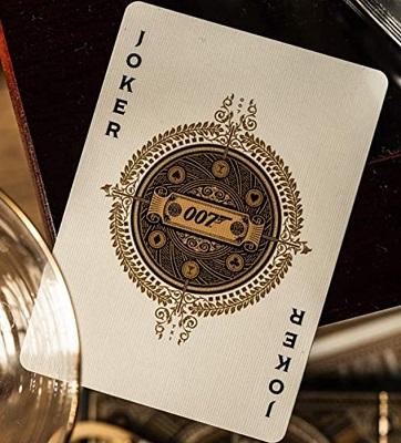 James Bond theme playing cards