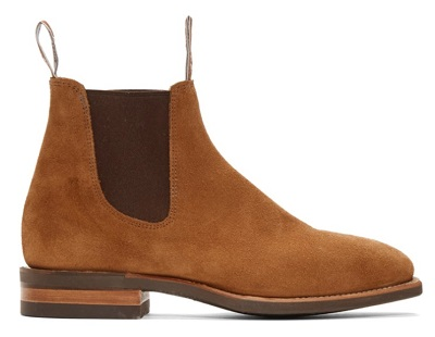 R.M. Williams Blaxland in Tan Suede