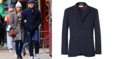 affordable alternatives Brunello Cucinelli Unstructured Navy Cashmere Jacket