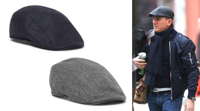 Daniel Craig Style Flat Caps