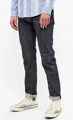 Edwin ED-55 selvedge denim jeans