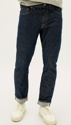 Everlane affordable selvedge denim jeans