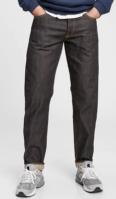 Gap affordable selvedge denim jeans