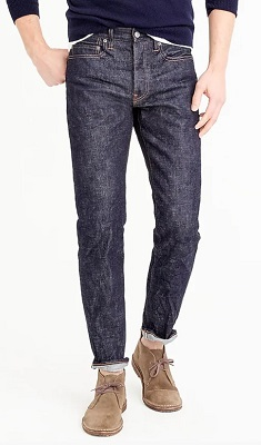J.Crew selvedge denim jeans