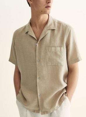 James Bond You Only Live Twice Camp Collar Shirt alternative
