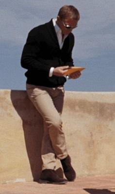 Quantum of Solace James Bond Mathis Villa Levi's