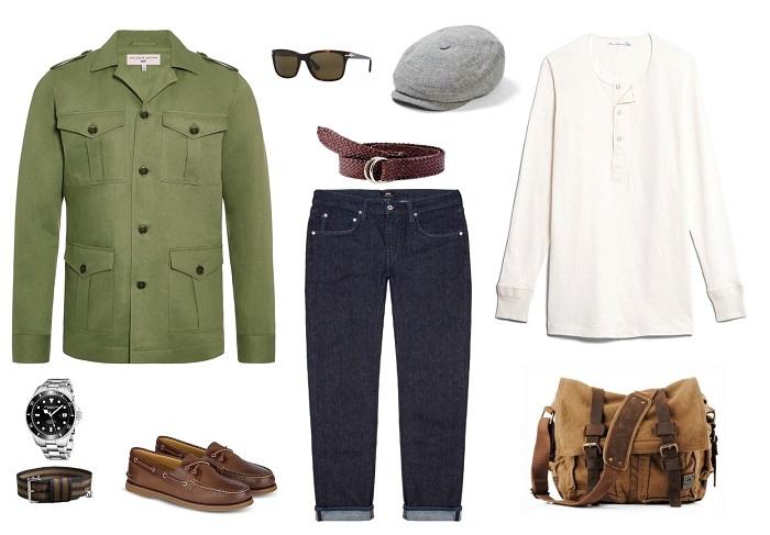 4 Ways to Wear the James Bond Safari Jacket