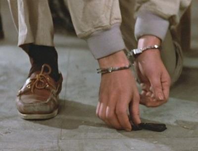 Timothy Dalton James Bond The Living Daylights Boat shoes