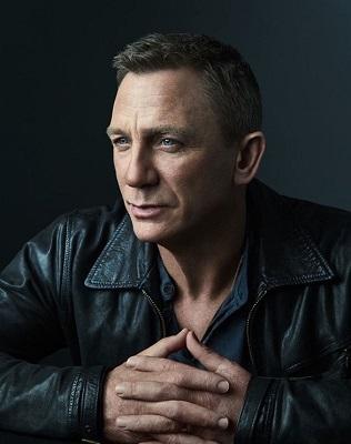 Daniel Craig Bond 25 Portrait