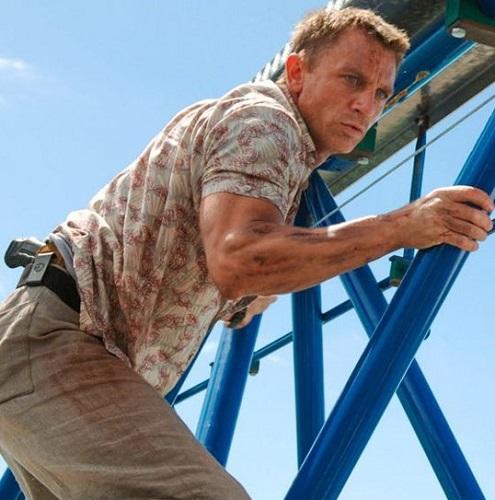 Daniel Craig James Bond Casino Royale Madagascar shirt