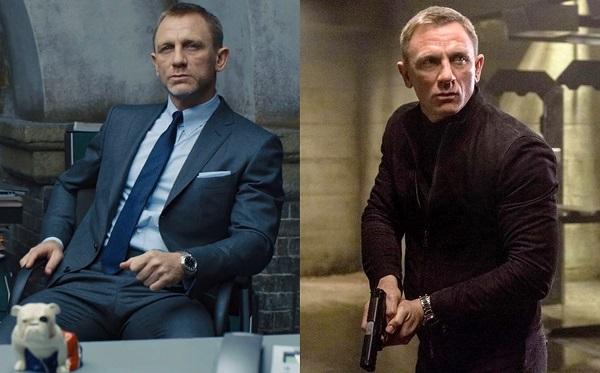 Daniel Craig James Bond Omega watches