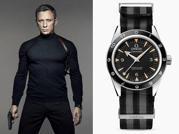 Daniel Craig James Bond Omega Seamaster 300M SPECTRE
